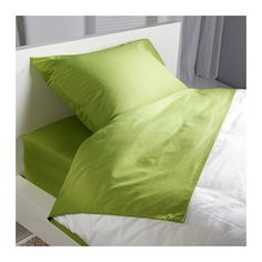 DVALA Sheet set IKEA Fits mattresses with a thickness up to 10 since the fitted sheet has elastic edging.