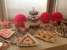 Zebra Party Zebra Birthday, Birthday Ideas, Birthday Parties, Party Party, Party Ideas, Zebra Party, Pinterest Projects, Baby Shower Themes, First Birthdays