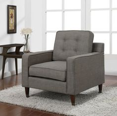 Jackie Brownish Grey Derby Mid- Century Inspired Comfortabele Arm Chair Retro Club Chair with Updated Vintage Feel Jackie http://www.amazon.com/dp/B00ORXYQEC/ref=cm_sw_r_pi_dp_Wp-Xub1H28VQB
