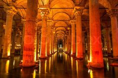 "The Basilica Cistern ""Sunken Palace"", or ""Sunken Cistern"", is the ..."