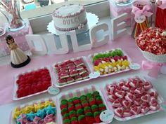 23 Mejores Imágenes De Ideas Comunion Candy Buffet Candy Bars Y