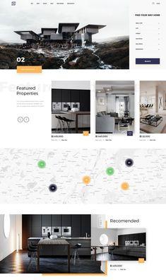 Web Design Tips and Guidelines Website Design Inspiration, Best Website Design, Real Estate Website Design, Website Design Services, Layout Inspiration, Web Design Trends, Web Design Quotes, Web Design Tips, Web Design Company