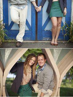 adorable boathouse engagements