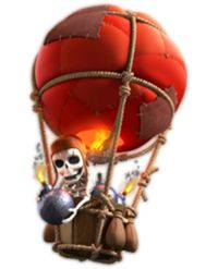 #Balloon from #Clash of #Clans.