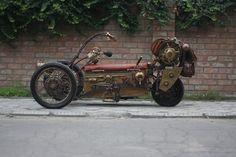 Steampunk Tendencies   Steampunk Tricycle by pofigist