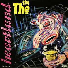 The The_Heartland single sleeve, UK crying in its pint... Andy dogs illustration neatly summarising this great single