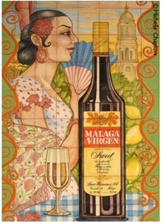 Malaga wijn