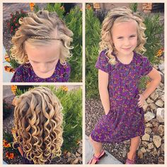 """366 Likes, 16 Comments - Ashley Cardon (@ashley_cardon_hairstyles) on Instagram: """"It's Monday! Hope you all have a fabulous week! This little girl turns 6 tomorrow! And I can't even…"""""""