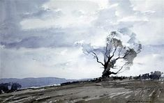 <b>Edward Wesson (1910-1983)</b></i> <br /> watercolour <br /> The Old Tree <br /> signed <br /> <i>12 x 19in.</b></i>