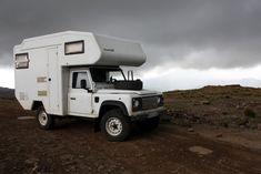 Bocklet Landrover Camper