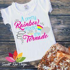 Rainbow_mixed_Tornado-SVG #ad #silhouettecameo #cricut #silhouette #svg #vinyl #decal #rainbow #tornado #sofontsy