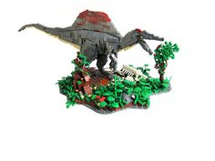 Green or red maybe gray but what is for sure they are strong big and have scary teeth, dinosaurs!I have collected for you a variety of amazing Lego dinosaur models that will spark your imagination Lego Jurassic Park, Jurassic Park World, Lego Dinosaurus, Legos, Lego Dragon, Lego Math, Lego Animals, Amazing Lego Creations, Spinosaurus