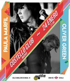 [concierto] PAULA MARFIL & OLIVER GREEN #madrid  #conciertomarfilgreen  . . . #costello #costelloclub #musica #madridmola #madridennavidad #music #livemusic #musicaenvivo #songwriter #cantautor #indie #malasaña #concierto #conciertosmadrid #conciertomadrid #madridmemola #guitarrista #pop #love #malaga
