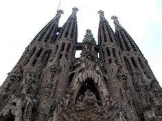 Sagrada Familia in Barcelona, via my flickr page