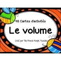 Cartes à tâches : Le volume