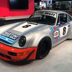 This Porsche 964 Martini Racing from RWB is a beautiful tribute to the Carrera RSR