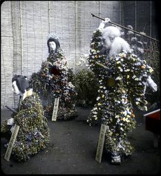 FLOWER MANNEQUINS TELL A STORY OF OLD JAPAN | Flickr - Photo Sharing!