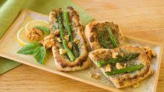 Appetizer Puff Recipe - Asparagus and Walnut Puffs - California Walnuts