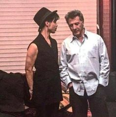 Prince and Dustin Hoffman