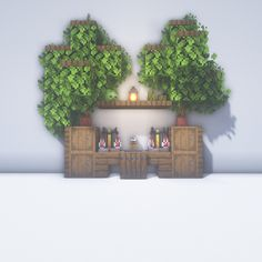 Diy Minecraft, House, Plants, Minecraft Designs, Decorating Rooms, Decorations, Hacks, Home, Plant