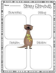Do Unto Otters Back To School Book Companion School