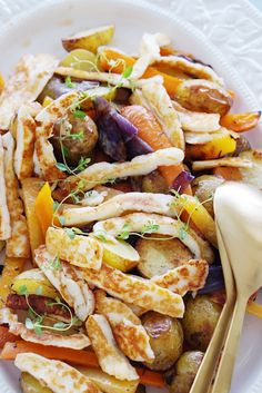 Hej! Veggie Recipes, Vegetarian Recipes, Healthy Recipes, Good Food, Yummy Food, Tasty, Dinner Is Served, Dessert For Dinner, Diy Food