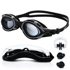 1223dd7142e Swimming Goggles - High-Definition Clear  Anti Fog   UV Protection   Anti  Shatter   No Leaking  Silicone Straps Quick Release Technology Triathlon  Surfing ...