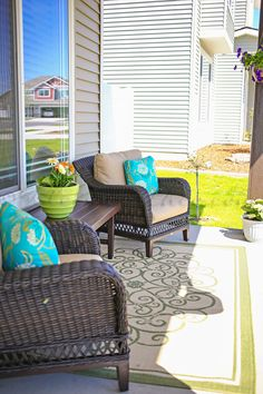 Summer Porch Makeove