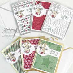 Dashing Along meets Cookie Cutter Dashing Along meets Cookie Cutter The post Dashing Along meets Cookie Cutter appeared first on Pinova - Paper Crafts Christmas Cards 2018, Noel Christmas, Xmas Cards, Handmade Christmas, Holiday Cards, Cards Diy, Stampin Up Christmas 2018, Ideas Scrapbook, Scrapbook Designs