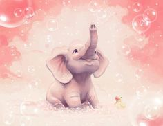 Too cute elephant illustration by Anne Patzke Art And Illustration, Elephant Illustration, Cartoon Illustrations, Elephant Love, Elephant Art, Little Elephant, Elephant Doodle, Elephant Cushion, Elephant Images