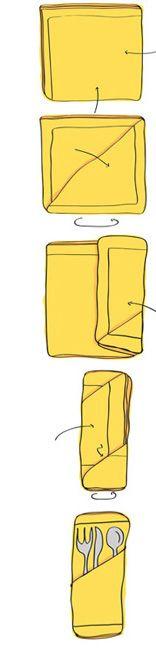Lautasliina tasku Toilet Paper Origami, Napkin Folding, Napkins, Projects To Try, Wedding Inspiration, Table Decorations, Table Settings, Towel, Art