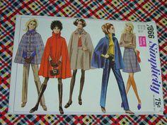 Vintage Pattern c.1968 Simplicity No.7866 by auntnonniesnest