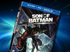 "Mark your calendars, folks. ""Son of Batman"" makes its way to Blu-ray, DVD and digital formats on May Son Of Batman, Superman, Batman Stuff, Aquaman, Dc Comics, Movie Tv, Sons, Nerd, Marvel"