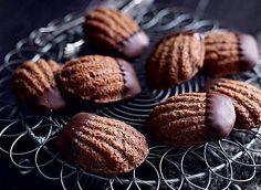 Madeleines de chocolate - Casa e Jardim | Bolos e biscoitos