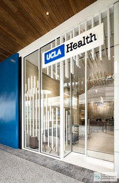UCLA Primary Care Center Entrance. UCLA Health Center Interior Design  Project   Century City,