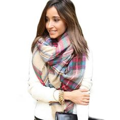 Only 1  Plaid Blanket Scarf Brand new! Buy today and get it by Christmas! Accessories Scarves & Wraps