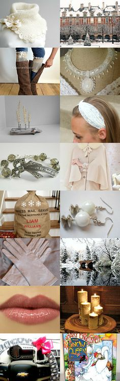 Winter White by Olga C on Etsy--Pinned with TreasuryPin.com