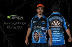Design your own Customised Darts Shirt http://www.spidasports.com.au/darts-shirts/