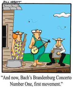 'Funny Classical Music Humorous Art' by abbottoons Music Ed, Music Stuff, Good Music, Cartoon Jokes, Funny Cartoons, Cartoon Fun, Funny Comics, Funny Jokes, Funny Art