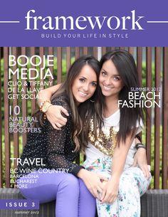 Framework Magazine Issue 3 - Summer 2012 w/@Cecelia whitbeck Media