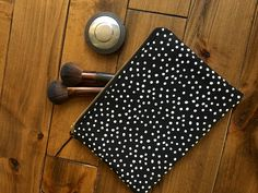 Makeup Bag | Cosmetic Bag | Zipper Pouch | Homemade | Sewing Project | Bridesmaid Gift