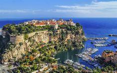 Download wallpapers Saint-Tropez, 4k, summer, harbor, Monaco, Europe