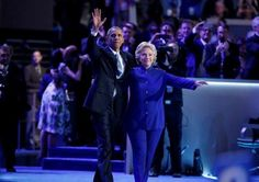 Hillary Clinton joins President Barack Obama - REUTERS/Lucy Nicholson