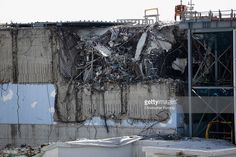 A general view of damage to No. 3 reactor building at Fukushima Daiichi nuclear power plant. Five years on, the decontamination and decommissioning process at the Tokyo Electric Power Co.'s embattled Fukushima Daiichi nuclear power plant continues on February 25, 2016 in Okuma, Japan. March 11, 2016 marks the fifth anniversary of the magnitude 9.0 earthquake and tsunami which claimed the lives of 15,894, and the subsequent damage to the reactors at TEPCO's Fukushima Daiichi Nuclear Power…