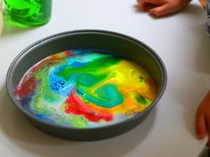 Kids Craft: Milk Art