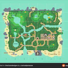 Home Design, Design Ios, Map Design, City Layout, Map Layout, Animal Crossing Guide, Animal Crossing Villagers, Design Thinking, Island Map