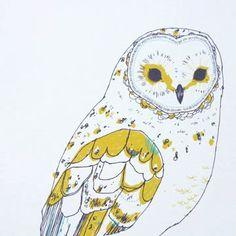 abigailbrown — A4 digital print-OWL