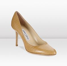 Jimmy Choo - Gilbert - made a little exotic with Lizard print leather