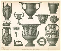greek vase shapes ancient ceramics pinterest greek ancient greece and pottery. Black Bedroom Furniture Sets. Home Design Ideas