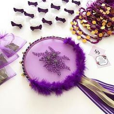 We have specially designed for the bride Gülbahar henna night September . Wedding Shower Decorations, Wedding Favors, Henna Night, Wedding Henna, Tambourine, Piercings, Purple Lilac, Boutique Design, My Favorite Image
